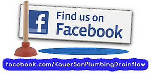 Kauer and Son plumbing and drain flow on Facebook