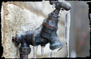 frozen faucets